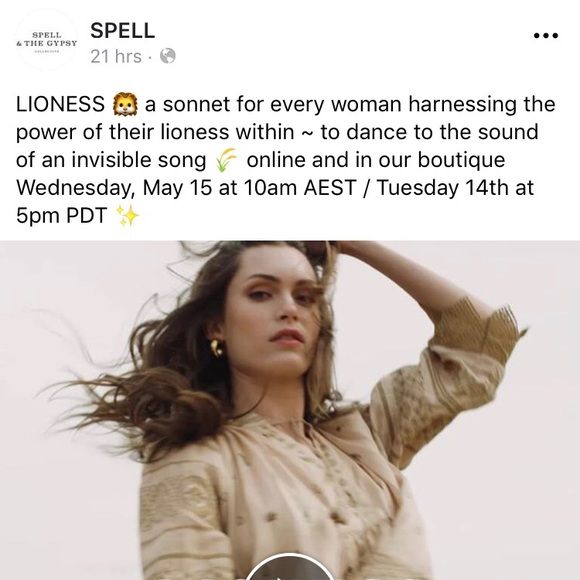 47e77abd15 Preview: Lioness drop! TODAY May 14, 2019!